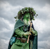 Green man piper