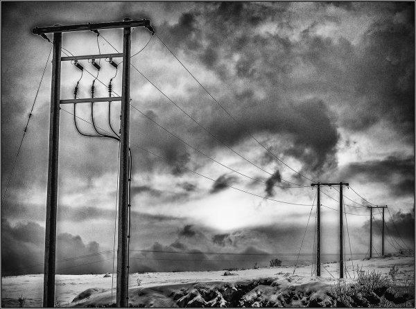 Powerlines - Ian Ledgard