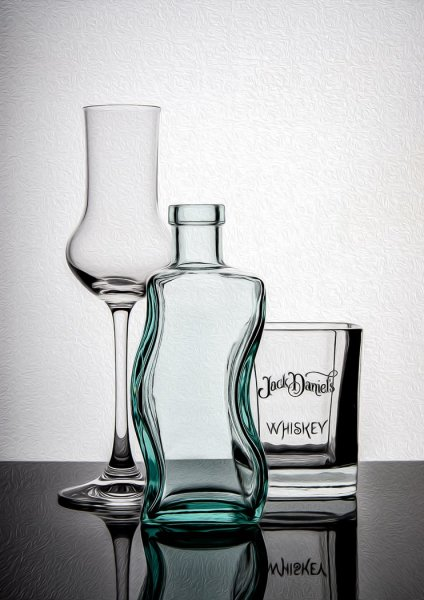 Three glass vessels - Martin Smith