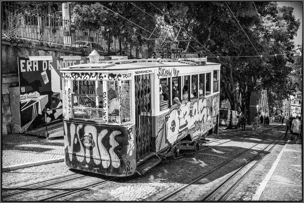 Tram to town - Ian Ledgard