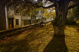 View from the churchyard, Autumn