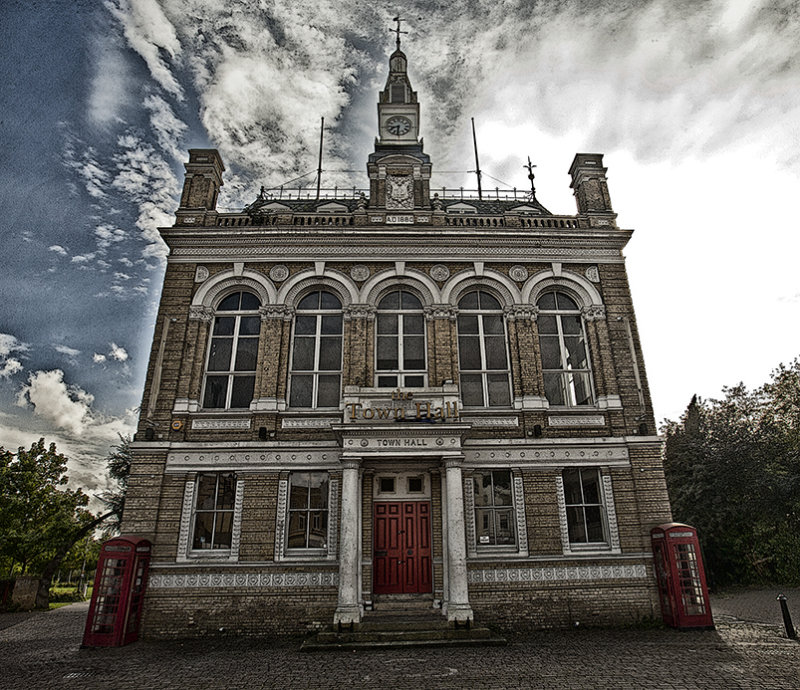 Imposing Town hall