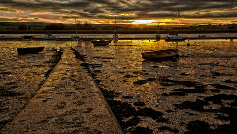Sunset slipway