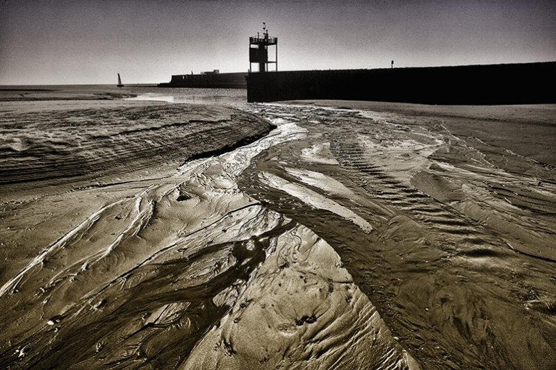 Low tide, Rye Harbour