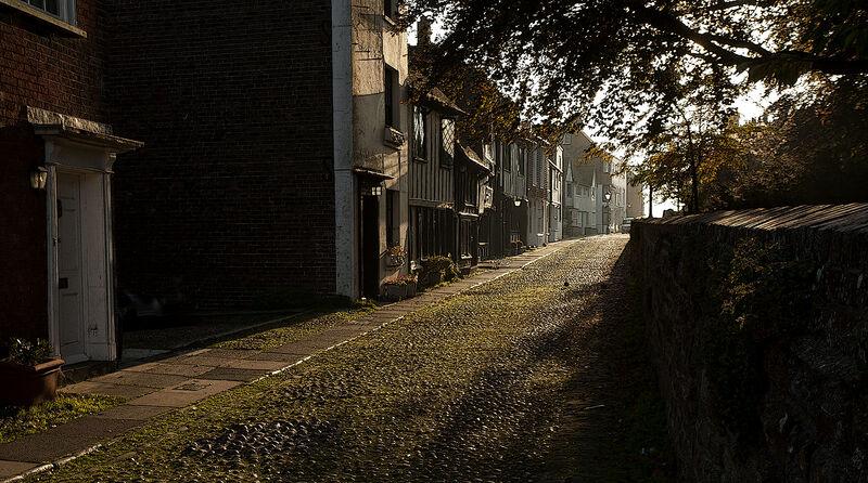 Looking towards Watchbell Street