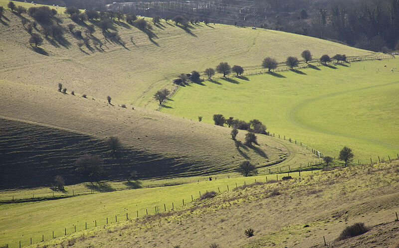 3 Stunning Sussex Downland valleys a short walk from Lewes: #2 -  Southerham
