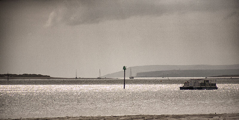 Across the Solent to the Isle of Wight