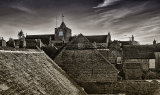 Medieval rooftops & church