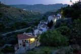Village by twilight