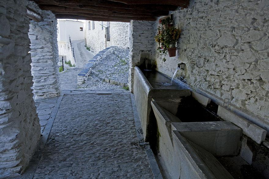 Ancient washroom
