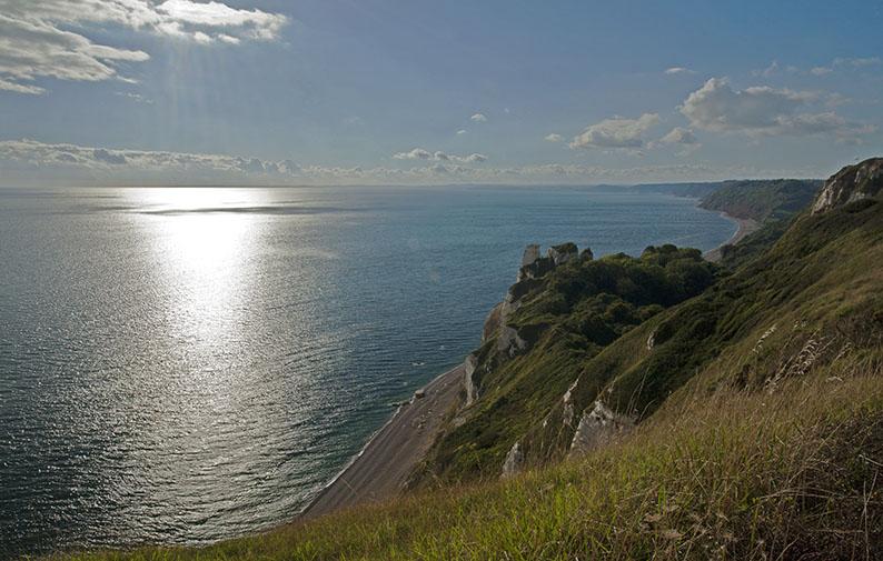 Impressive coastline