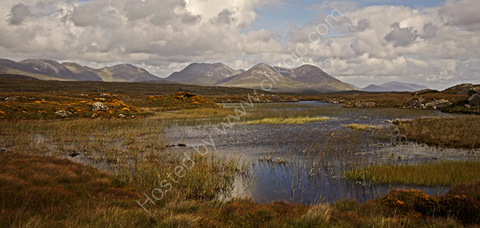 Remote Irish bogland