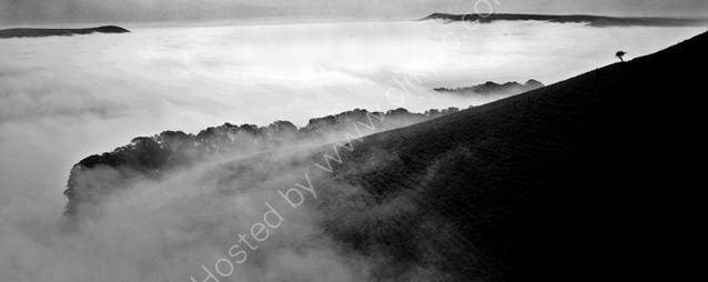 September morning mist above Kingston
