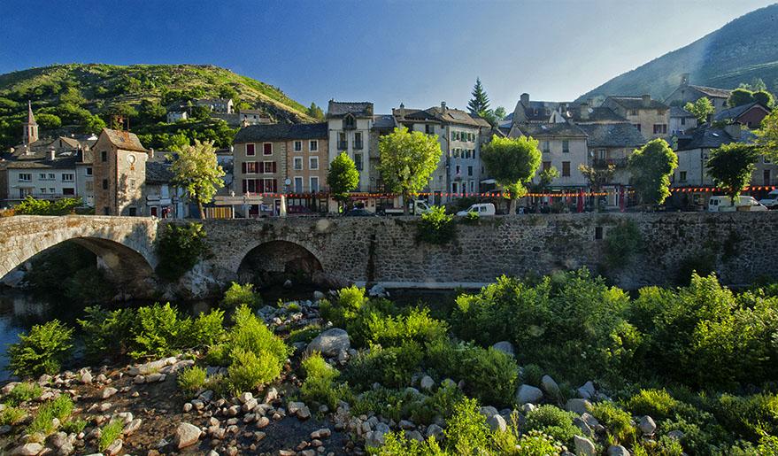 Stunning village