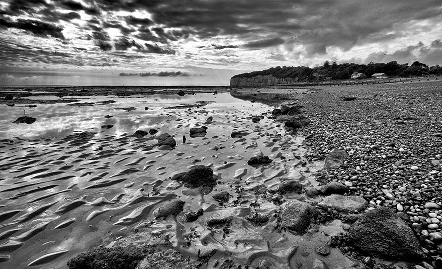 Patterns on the shore (i)