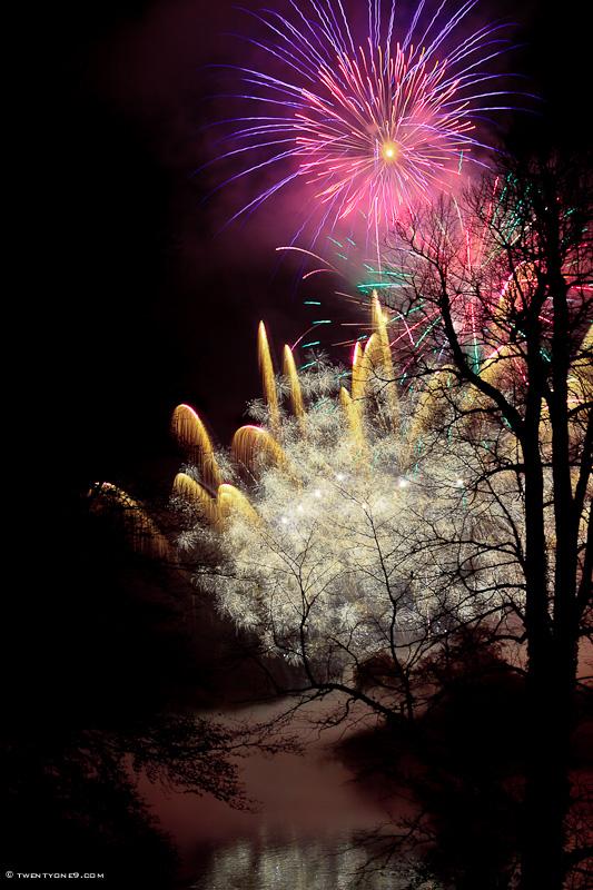 Sherborne Castle Fireworks I