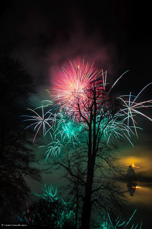 Sherborne Castle Fireworks II