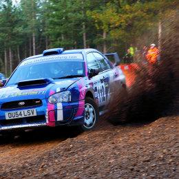 Car Rally at Camberley