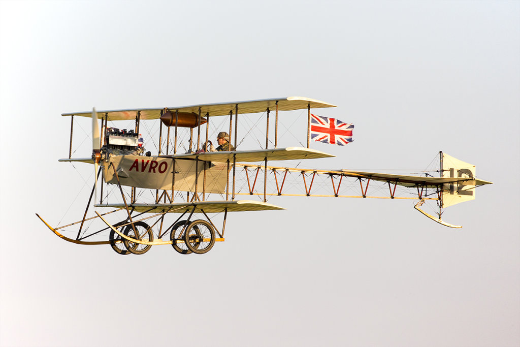 Avro Triplane at Old Warden
