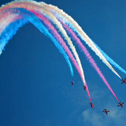 Red Arrows at Bournemouth