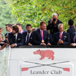 Olympic Medalists at Leander Club Henley
