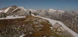 Sgurr an Lubhair in The Mamores