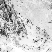 Dorsal Arete and Broad Gully