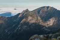 Summit View Towards Cìr Mhòr and Caisteal Abhaill