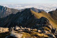"Goatfell to North Goatfell and ""Ceum na Caillich"" The Witch's Step"