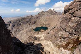 Sgùrr Alasdair  (3,255 ft) from Sgurr nan Eag