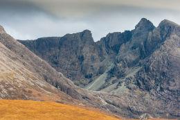 Sgùrr Alasdair (3,255 ft) from Glen Brittle