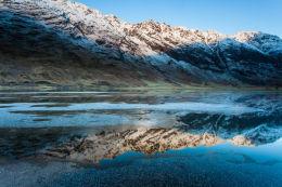 Aonach Eagach, an icy reflection