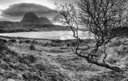 Suilven and Fionn Loch