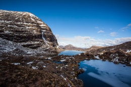 The Thaw continues on Beinn Eighe (3,314 ft)
