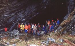 Cave Dwellers on Isle of Jura