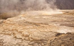 Mammoth...An otherworldly place of numerous geothermal features.