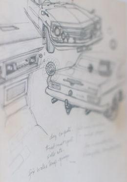 Cresta sketch by A. Robertson