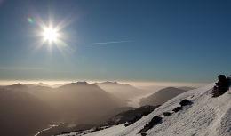 Glen Etive under the winter sun