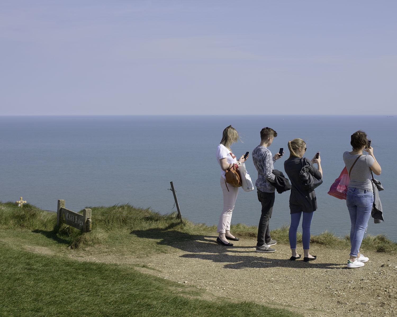 Beachy Head, East Sussex (TV 58877 95562) looking SSW.