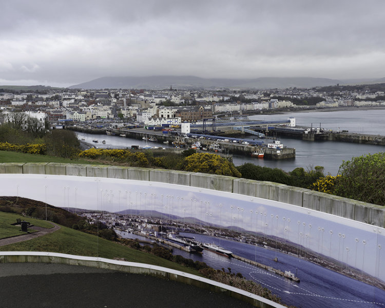 Douglas Head, Isle of Man looking NW.