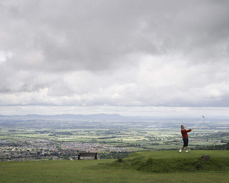 Cleeve Hill, Gloucestershire (SO 98585 26370) looking WNW.