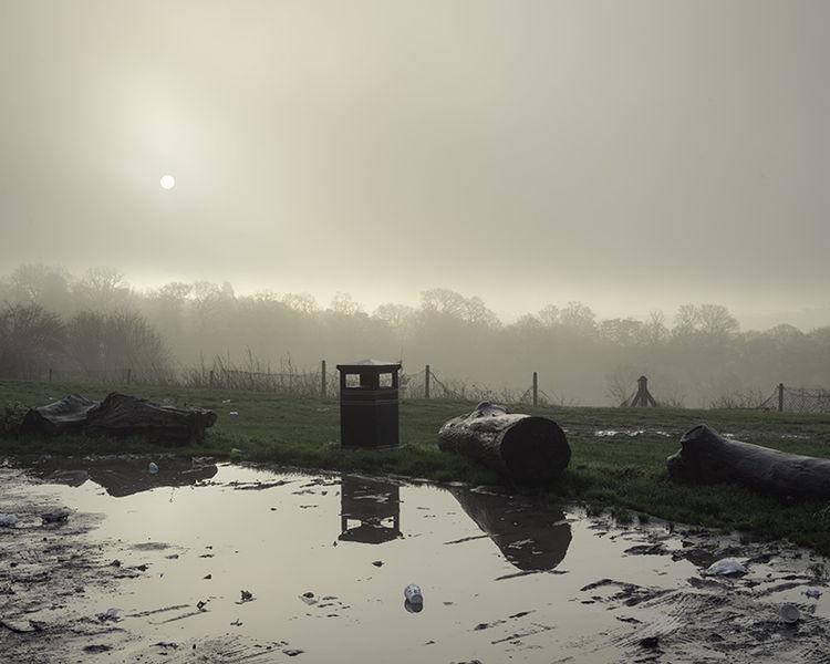Old Redding, Harrow (TQ 14283 92553) looking SE.