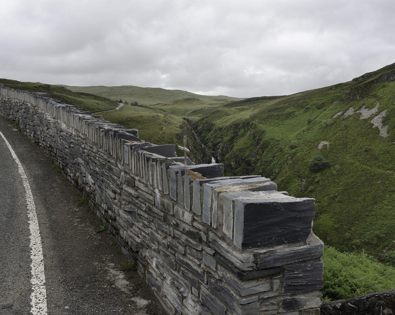 Rhaeadr y Cwm, Llan Ffestiniog, Gwynedd (SH 73595 41712) looking E.