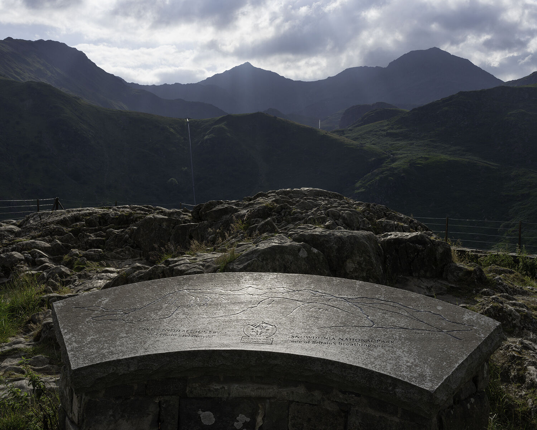 Nant Gwynant, Gwynedd (SH 65812 54129) looking W.
