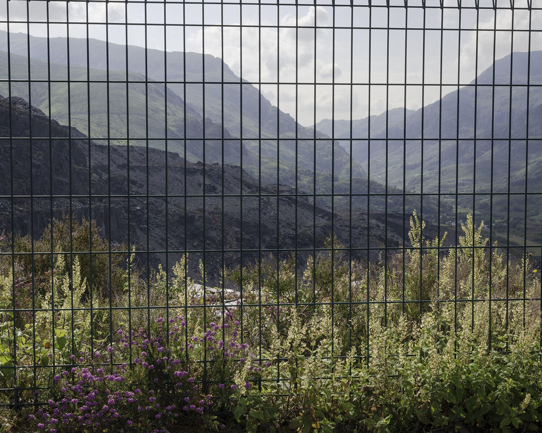 Dinorwig slate quarry, Gwynedd (SH 59155 60451) looking SSE.