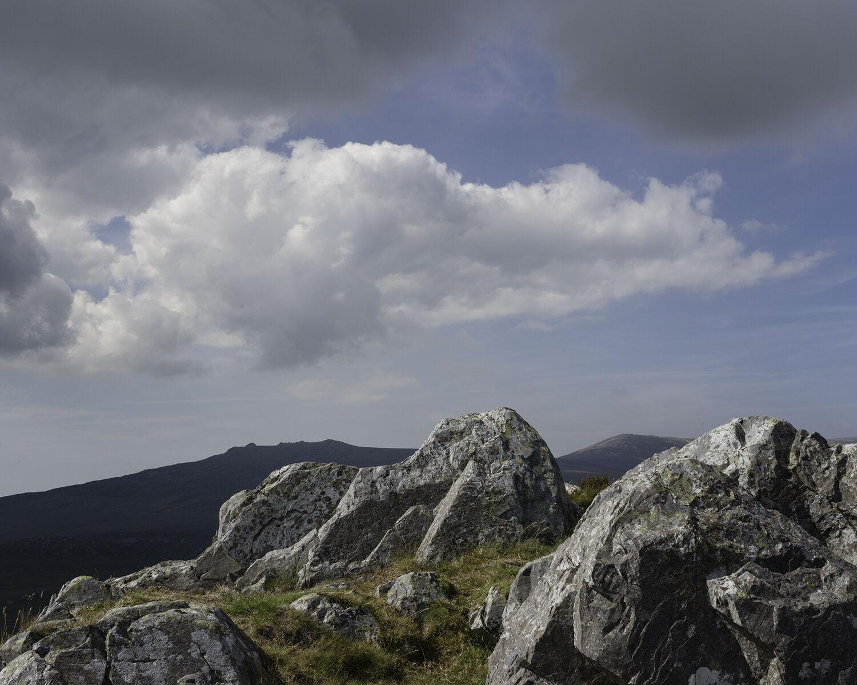 Craig-y-garn, Gwynedd, (SH 51097 444437) looking NNW.