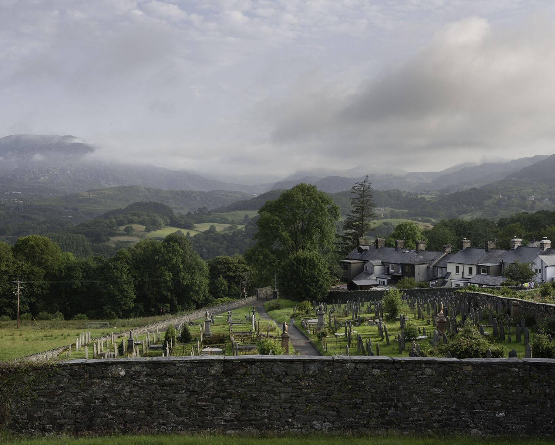 Llan Ffestiniog, Gwynedd, (SH 69895 41888) looking N.