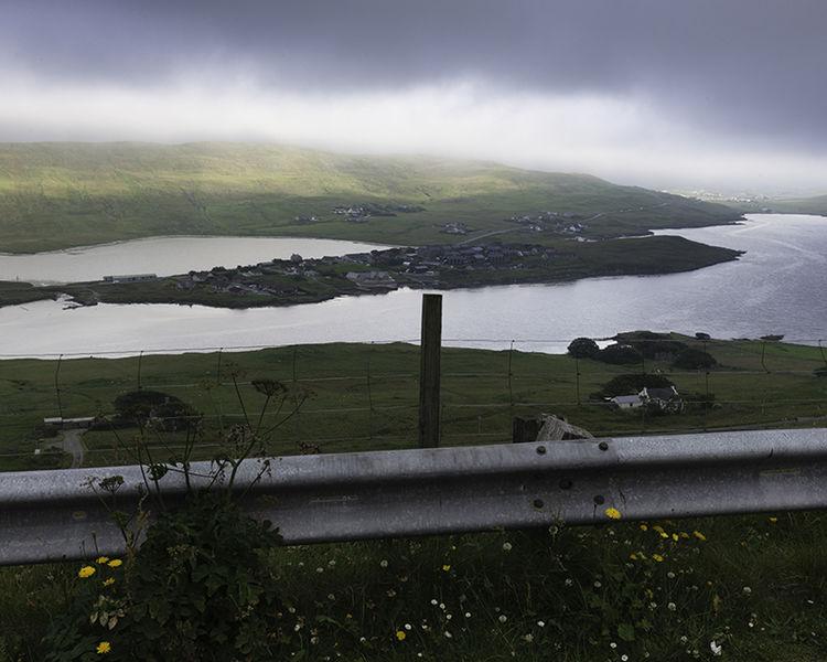 Scord of Weisdale, Shetland (HU 38175 50562) looking SE.