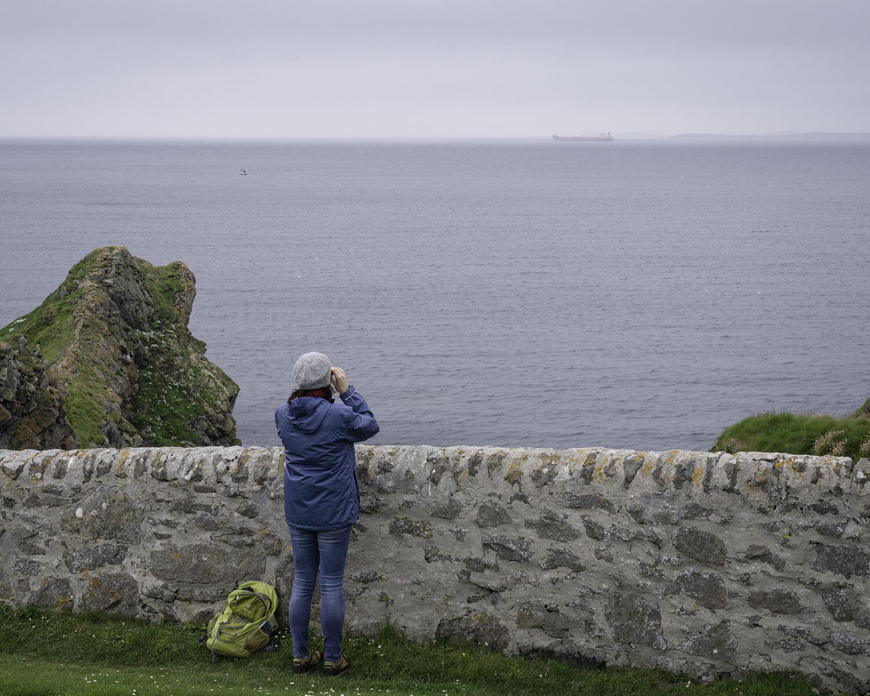 The Knab, Lerwick, Shetland (HU 47947 40470) looking S.