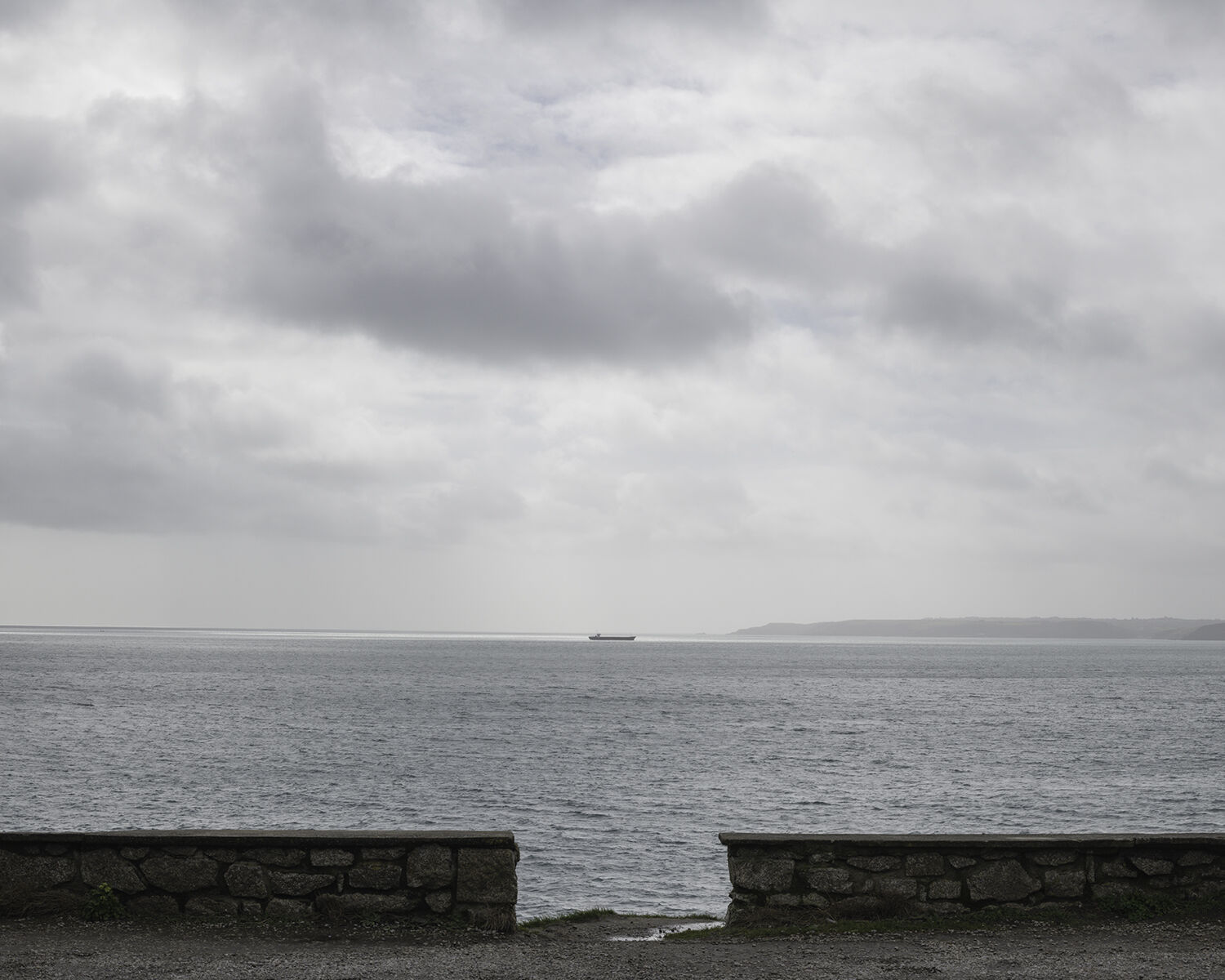Pendennis Point, Falmouth, Cornwall (SW 82651 31566) looking S.